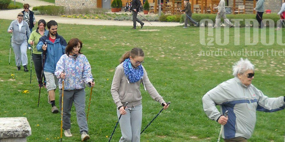 nordic walking oktatás
