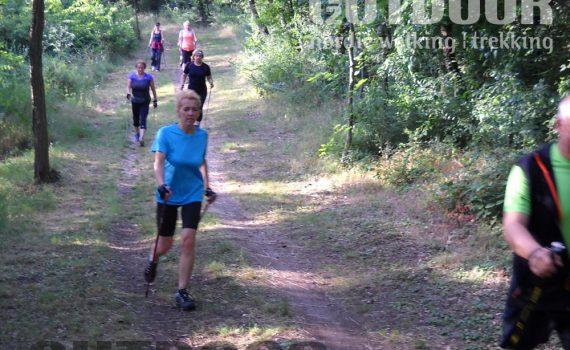 nordic walking edzés erdei ösvényeken