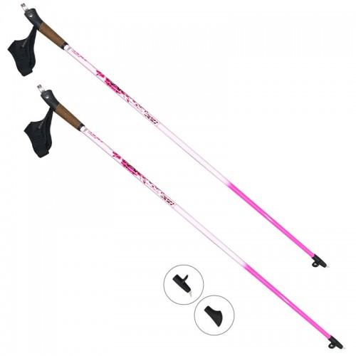 KV+ Exclusive Clip pink nordic walking bot