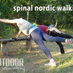 Spinal nordic walking edzések