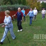 Senior+ nordic walking foglalkozás